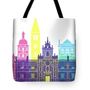 Valladolid Skyline Pop Tote Bag