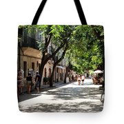 Valldemossa Street View Tote Bag