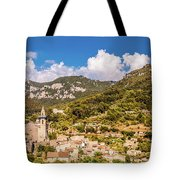 Valldemossa View From The Town Tote Bag