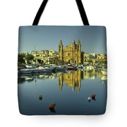 Valletta Reflected  Tote Bag