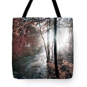 Valley Creek Sunrise Tote Bag