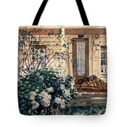 Valley Ford House Tote Bag by Donald Maier