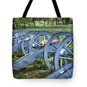 Valley Forge Artillery Park Tote Bag