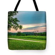 Valley Forge Sunset Tote Bag