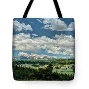 Valley In The Rockies Tote Bag