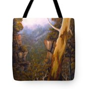 Valley Morning Dew Tote Bag