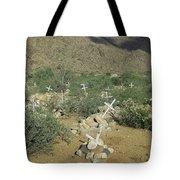Valley Of Dead Men's Bones Tote Bag