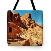 Valley Of Fire Cabin Tote Bag