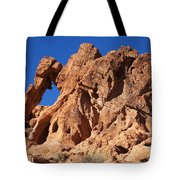 Valley Of Fire Elephant Rock Tote Bag