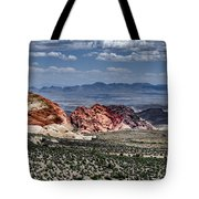 Valley Of Fire Iv Tote Bag