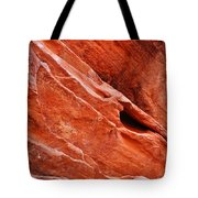 Valley Of Fire Mouse's Tank Sandstone Wall Portrait Tote Bag