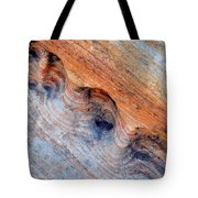 Valley Of Fire Rainbow Sandstone Tote Bag