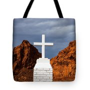 Valley Of Fire State Park Clark Memorial Tote Bag