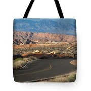 Valley Of Fire State Park Rainbow Vista Tote Bag