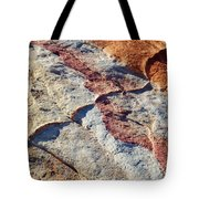Valley Of Fire White Domes Sandstone Tote Bag