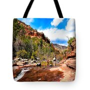 Valley Of Life Tote Bag