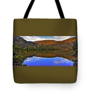 Valley Of Peace Tote Bag by Kaye Menner