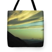 Valley Of The Shadow Tote Bag