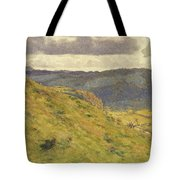 Valley Of The Teme, A Sunny November Morning Tote Bag