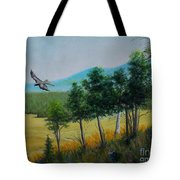 Valley View From Up The Hill Tote Bag