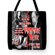 Vampire Noir Tote Bag by The Scott Shaw Poster Gallery