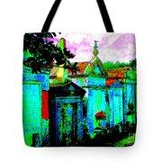 Vampire Tombs New Orleans Tote Bag