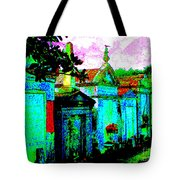 Vampire Tombs New Orleans Tote Bag