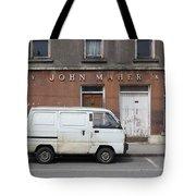 Van And Shop Tote Bag