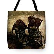 Van Gogh Boots 1886 Tote Bag