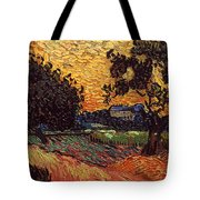 Van Gogh: Castle, 1890 Tote Bag