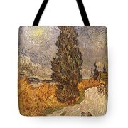 Van Gogh: Cypresses, 1889 Tote Bag