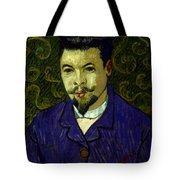 Van Gogh: Dr Rey, 19th C Tote Bag