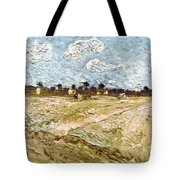 Van Gogh: Fields, 1888 Tote Bag