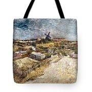 Van Gogh: Gardens, 1887 Tote Bag