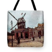 Van Gogh: La Moulin, 1886 Tote Bag