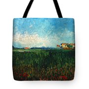 Van Gogh: Landscape, 1888 Tote Bag