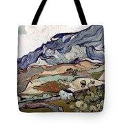 Van Gogh: Landscape, 1890 Tote Bag