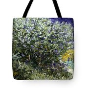 Van Gogh: Lilacs, 19th C Tote Bag