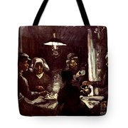 Van Gogh: Meal, 1885 Tote Bag