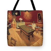 Van Gogh Night Cafe 1888 Tote Bag
