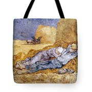 Van Gogh: Noon Nap, 1889-90 Tote Bag