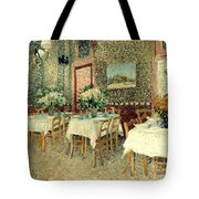 Van Gogh: Restaurant, 1887 Tote Bag