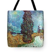 Van Gogh: Road, 1890 Tote Bag