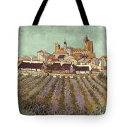 Van Gogh: Saintes-maries Tote Bag