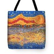 Van Gogh Skies Tote Bag