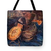 Van Gogh: The Shoes, 1887 Tote Bag