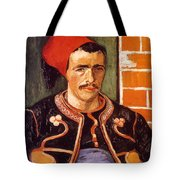 Van Gogh: The Zouave, 1888 Tote Bag
