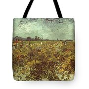 Van Gogh: Vineyard, 1888 Tote Bag