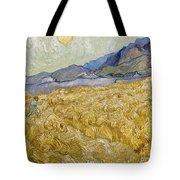Van Gogh: Wheatfield, 1889 Tote Bag