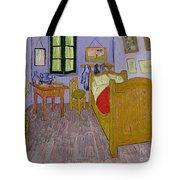 Van Goghs Bedroom At Arles Tote Bag